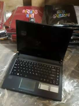 Laptop acer core i5