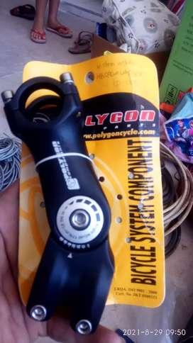 Stem handle bar handlebar stang stir sepeda mtb gunung polygon