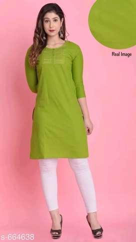 Fabric Cotton kurti
