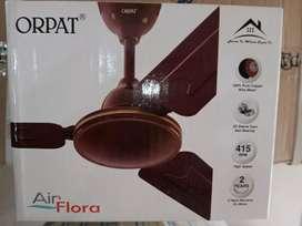 Orpat ceiling fan 1200 mm 2 years warranty