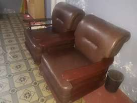 Wooden sofa seat  3 seater main sofa with two separate sofa