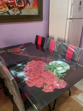 Dining Table complete set (6 Chair)
