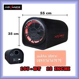 Speaker advance bluetoth karaoke T105 12 INCI