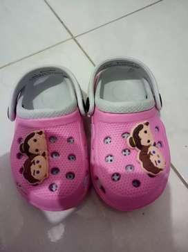 Sendal baby crocs disney