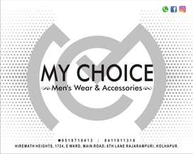 Need Experienced Male Salesmen for Mens wear in Kolhapur