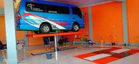 Hidrolik untuk cuci mobil dan motor Autolift