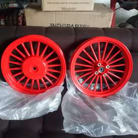 Velg vario beat scoopy spacy barang baru model dokar merah cabe