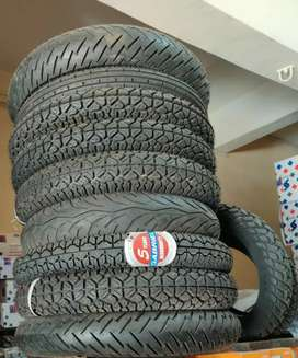 Two wheeler new tyres