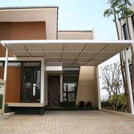 @41 canopy minimalis rangka tunggal atapnya alderon rs masa kini