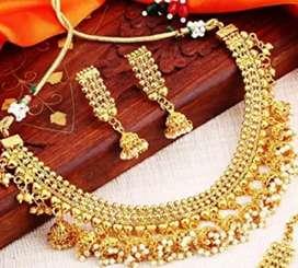 Sukkhi jhumki necklace set