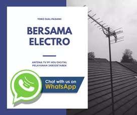 Jasa specialist pasang sinyal antena tv murah