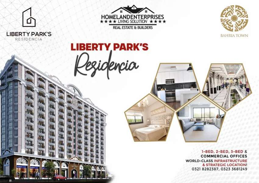Flat For Sale,at Liberty Parks Residencia 0