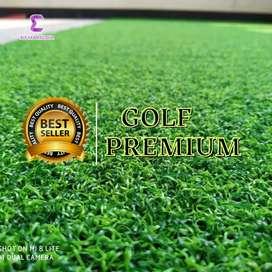Rumput sintetis golf premium tebal 1,5cm