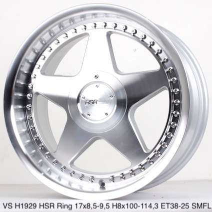Velg Warrior VS H1929 HSR R17X85-95 H8X100-114,3 ET38-25 SMFL 0