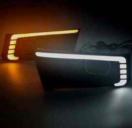 Brezza fog lamp drl with indicators