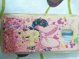 Water glitter back cover of Samsung J2 18