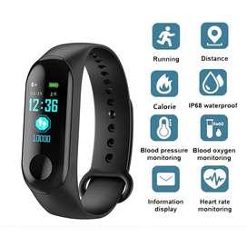 Smartband M3 Plus Smartwatch - Hitam
