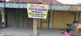 Jual Cepat & Murah, Nol Jalan Propinsi, Dekat Pasar, Cocok u/ Usaha
