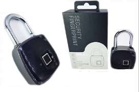 Gembok sidik jari digital Finger print padlock  RP.410.000/pcs