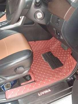 karpet mobil Nissan Livina Tahun 2020 full bagasi kostum fit