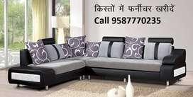 Friday offer New Sofa set 8540,L shape sofa 14000, Emi available