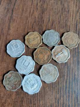 OLD 10 PAISA COINS AVAILABLE