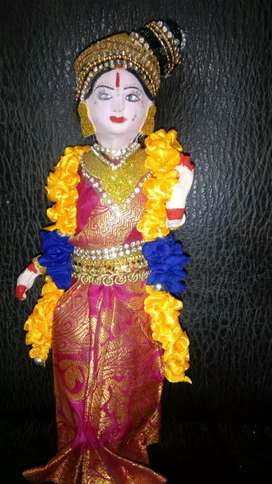 Andal homemade paper doll