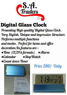 Foldable Lcd Alarm Clock in Faisalabad.