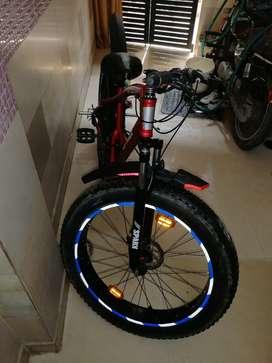 Fat bike..