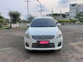 Suzuki ertiga Gx 2014 matic putih km 12 rb