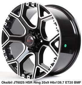model baru OKSIBIL JT6025 HSR R20X9 H6X139,7 ET20 BMF