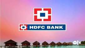 HDFC is hiring freshers & experienced. BULK hiring for HDFC banks