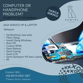 Jasa Service HP, Laptop, Root, Custom Rom, Bootloop, dll