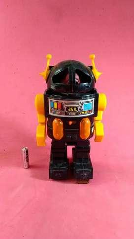 robot dino nyala jadul vintage antik lawas kuno rare langka