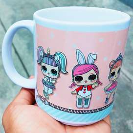 Jual Murah Mug unik - Magic Mug Custom
