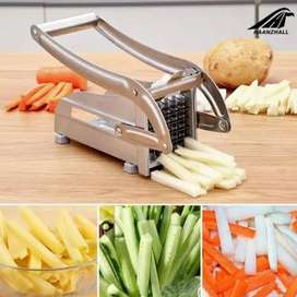 New: Stainless Steel Home French Fries Potato Chips Strip ...