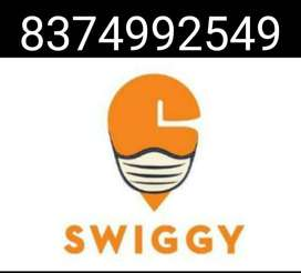 FOOD DELIVERY BOY IN SWIGGY REQUIRED /JOINING BONUS AVAILABLE