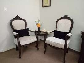 Coffee Chairs & Table Set