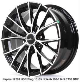 all new NAPLES 12283 HSR R15X65 H8X100-114,3 ET38 BMF