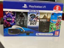 BRAND NEW PS4 VR WITH 5 GAMES MEGA PACK
