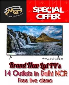 50 inch smart LED TV __ mega discount + attractive design // waranty**