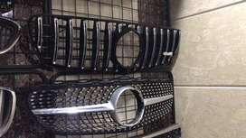 Mercedes Benz GTR and diamond style grills