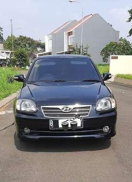 Hyundai Avega 2011 Hitam Automatic