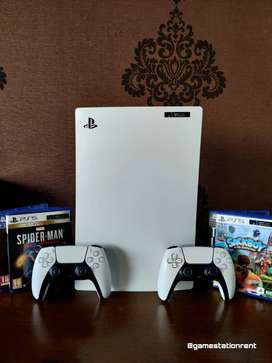 PS5 on rent