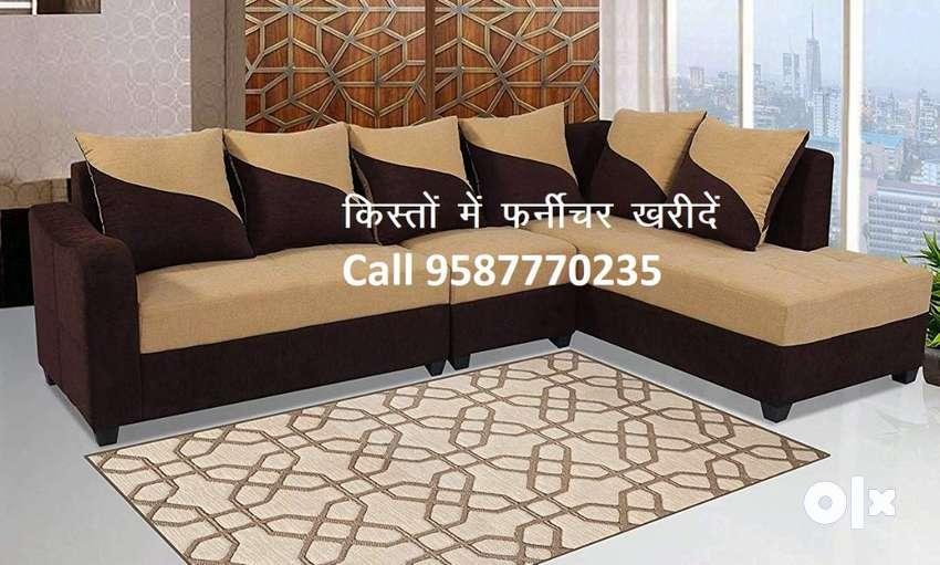 Sankranti Super Offer of Sofa set 8700,L shape Sofa 14100,EMI avalable 0