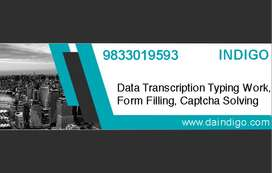 Data Transcription, Data Entry - Limited Seats, Apply Now