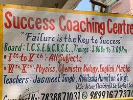 Maths/science teacher for a Coaching center