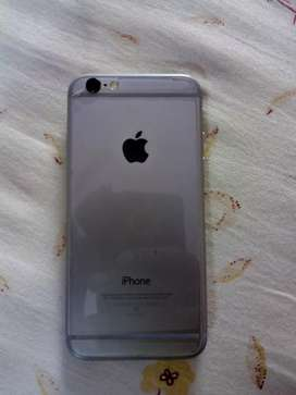 iPhone 6 gray colour well condition mobil