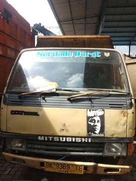 Mitsubishi Colt Diesel FE 334 Dump Truck Tahun 2005