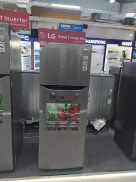 Kulkas LG 209 ltr, bisa kredit tanpa DP & tanpa Jaminan, 3 mnt cair